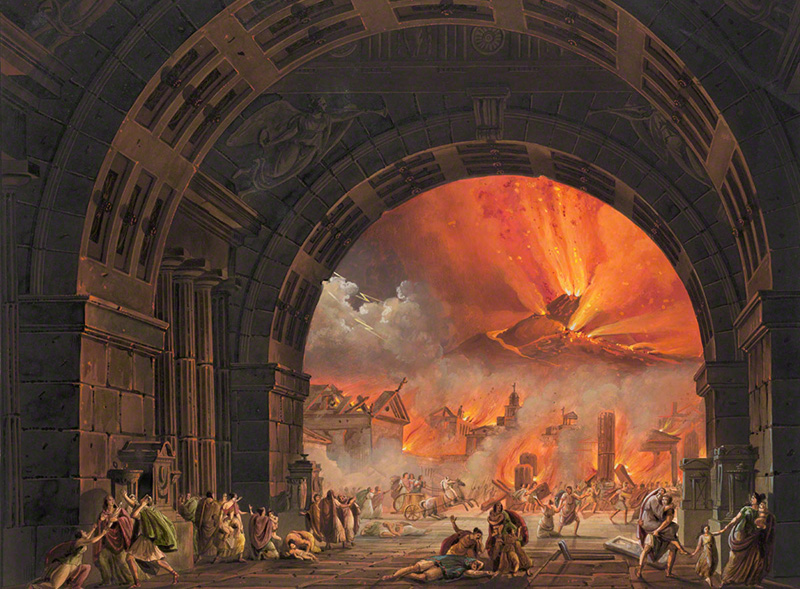 Destruction of Pompeii
